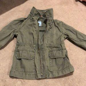 Baby gap, olive green coat